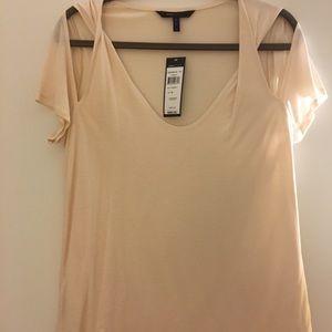 BCBG blush color dress T-shirt